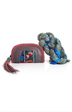 Pocket bag & Indian Scarf  69 €