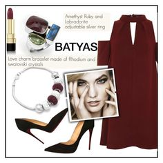 """""""BATYAS"""" by elly-852 ❤ liked on Polyvore featuring Christian Louboutin, Topshop and Dolce&Gabbana"""