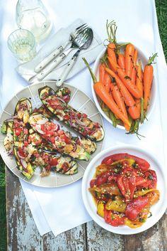 Božská příloha pro 4 nebo lehký oběd pro 2! Ratatouille, Carrots, Vegetables, Tableware, Ethnic Recipes, Kitchen, Fitness, Carrot, Dinnerware