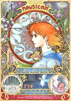 Studio Ghibli VS. Art Nouveau – Les films cultes revisités