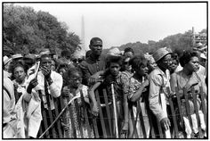 Thousands gather at the Washington Monument at the March on Washington for jobs and racial equality. Photo by Bruce Davidson/Magnum Photos