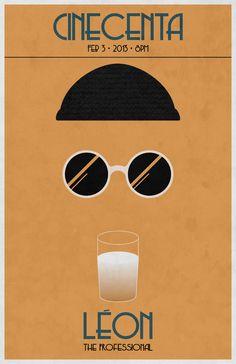 Leon The Professional Poster Design