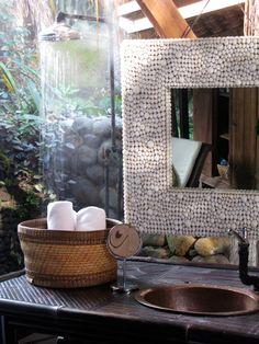 just one of 1,000 reasons to love Bali: the interiors! bamboo garden house at Panchoran Retreat   Yoga & Spa, Bali
