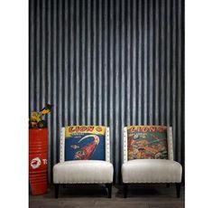 Cool! Industrial Loft Palmer Corrugated Steel Wallpaper - Iron