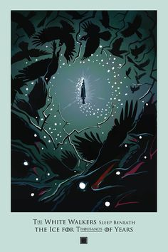 """""""Second Sons"""" - Beautiful Illustrated Posters for Every Episode of 'Game of…"""