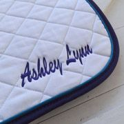 Add Custom Embroidery to a High Point Saddle Pad