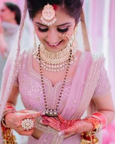 These Bridal Naths Ideas Are Unique And Perfect For Modern Brides! Indian Wedding Photography Poses, Wedding Poses, Wedding Bride, Bridal Poses, Wedding Ideas, Bridal Shoot, Couple Photography, Photography Ideas, Indian Bridal Outfits