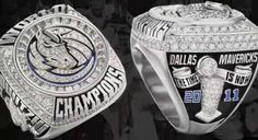 Dallas Mavericks Championship Ring
