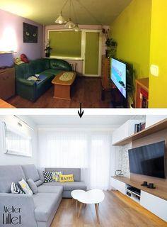 Z serii PRZED i PO. Salon w mieszkaniu z wielkiej płyty po metamorfozie.  #projektowanie #wnętrz w #szczecin więce https://t.co/N271fkxgMU