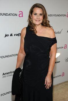 Polished Lorraine Bracco ...Plush waist to hips ratio...