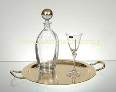 Σετ γάμου χρυσός δίσκος Wine Decanter, Fountain, Barware, Wedding Planning, Bar Accessories, Wedding Ceremony Outline, Water Fountains, Glas