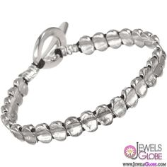 Jill Platner Silver Sweet William Bracelet