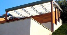 Folding arm awnings, retractable