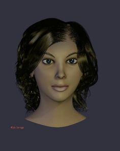 Trisha - Created by Rick Savage - Blender 2.68