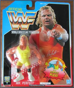 See all photos for detailed condition. Retro Toys, Vintage Toys, Sports Figures, Action Figures, Wwf Toys, Wwf Superstars, Wwf Hasbro, Modern Toys, Mr Perfect