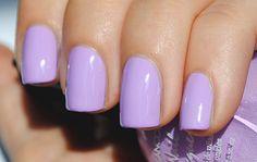 22 Super Ideas For Nails Matte Pastel Purple Light Purple Nails, Lilac Nails, Purple Nail Art, Purple Nail Polish, Pastel Nails, Pastel Purple, Nail Polish Colors, Pretty Pastel, Lavender Nail Polish