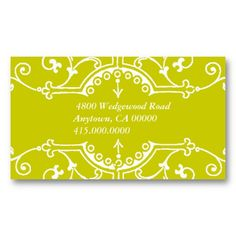 Motif Business or Profile card Business Card Templates