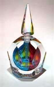 Art glass perfume bottle <3