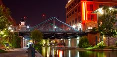 OKLAHOMA CITY, OK:  This friendly capital city is on the rise. Just look at 21c Museum Hotel, a trendy boutique that sprung up in a derelict Ford Motor Company assembly plant. Of course, that's the norm in Bricktown, where restored, red-brick warehouse buildings line the riverwalk.