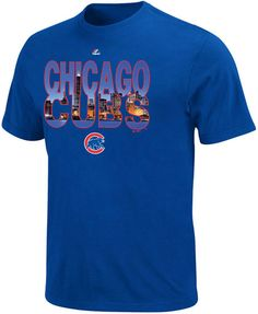 Chicago Cubs City Window T-Shirt by Majestic (3.20.12)