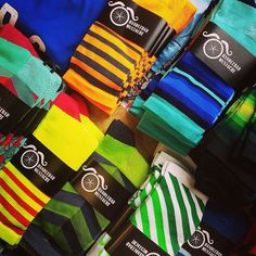 Fresh delivery from our friends @hbstache has just landed. #sockdoping #brightenyourride
