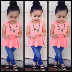 Kids fashion #outfit #girl