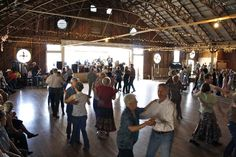 Anhalt Dance Hall - Located off Hwy 46, this dance hall was originally built in 1879.  Dances are held once a month.