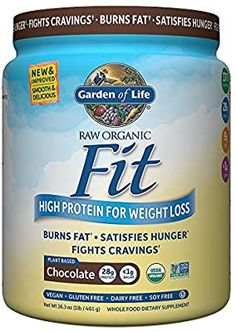 Garden of Life Organic Meal Replacement - Raw Organic Fit Vegan Nutritional Shake for Weight Loss, Chocolate, Powder Nutrition Shakes, Weight Loss Shakes, Grocery Lists, Organic Recipes, Collagen, Whole Food Recipes, Pantry, Cravings, Dairy Free