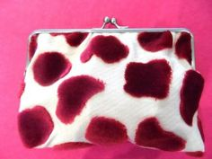 A darling clutch from my Montmartre velvet
