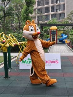 Shop for cheap Disney Dale Chipmunk Mascot Costume, affordable price, US free shipping, more care bear mascot costume at www.hallowmascots.com