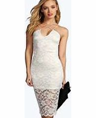 boohoo Strappy Lace Bodycon Midi Dress - ivory azz10790 Look knock-out on nights out in figure-skimming bodycon fits, flowing maxi lengths and stunning sequin-embellished occasion dresses. This season make for satin sheen slip dresses in mink nudes, and ma http://www.comparestoreprices.co.uk/dresses/boohoo-strappy-lace-bodycon-midi-dress--ivory-azz10790.asp