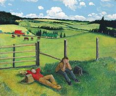 Pastoral by William Kurelek