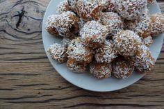 Speculaas Carrotcake Snow Balls