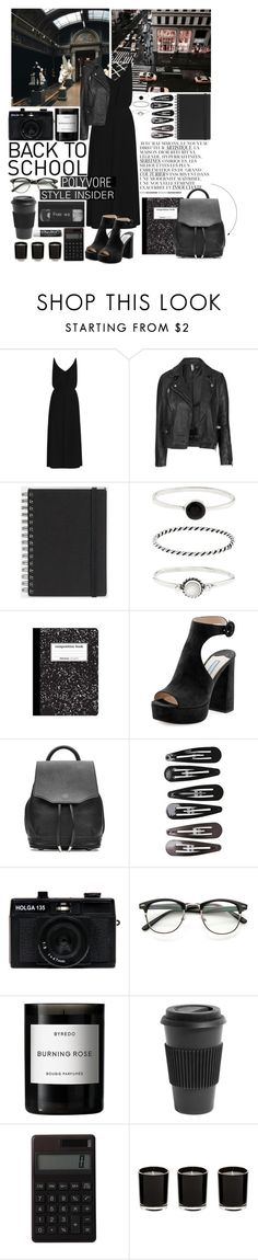 """""""Back to school - Contest outfit 3"""" by javorkozima ❤ liked on Polyvore featuring By Zoé, Zimmermann, Topshop, Muji, Accessorize, Prada, rag & bone, Clips, Holga and Byredo"""