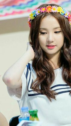 Eunha Gfriend long hair