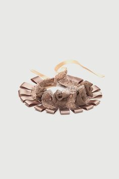 Romani Design ribbon necklace (beige) | Romani Design Ribbon Necklace, Brooch, Stud Earrings, Beige, Gifts, Accessories, Jewelry, Fashion, Moda