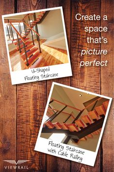 When this space required a custom-fix, our design team jumped into action! Most staircase manufacturers mass-produce their systems and offer little customization. With Viewrail FLIGHT, this client was able to design every aspect of their project, from the wood stain on the treads, to the actual configuration itself! #design #interiordesign #DIY #renovation #Viewrail #ViewrailFLIGHT #FloatingStairs #FloatingStaircase #stairs #staircase #architecture #cablerailing #railing #modern…