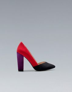 TRICOLOUR COURT SHOE - Shoes - TRF - ZARA United States
