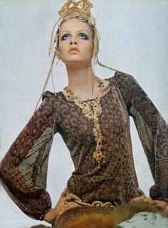 Photo by Gianpaolo Barbieri for Vogue Italia, 1969.