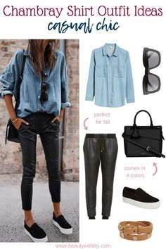 43d50c2766e 73 Best Chambray Outfit images