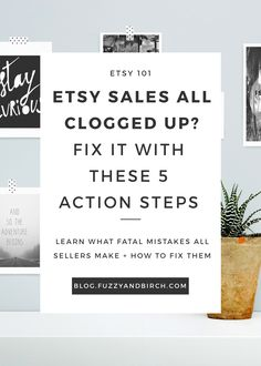 Learn what fatal mistakes all Etsy sellers make and how to fix them! Click to watch this free webinar instantly.