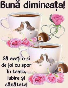 Imagini buni dimineata si o zi frumoasa pentru tine! - BunaDimineataImagini.ro Tostadas, Dog Food Recipes, Good Morning, Tea Cups, Mugs, Geo, Cat Breeds, Good Night, Buen Dia