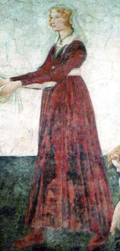 Young Lady Sandro Botticelli, c. 1483-85 Louvre, Paris
