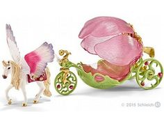 The Festive Elf Carriage from the Schleich World of Fantasy collection - Discounts on all Schleich Toys at Wonderland Models. One of our favourite models in the Schleich Bayala range is the Schleich Festive Elf Carriage.