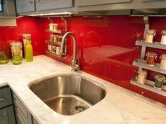 Kitchen Glass Tile Backsplash Ideas Pictures Tips From Hgtv Red Kitchen Tiles 14009627 Red Kitchen Backsplash