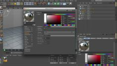 Brief overview of the render pass and render output control in Cinema 4D.