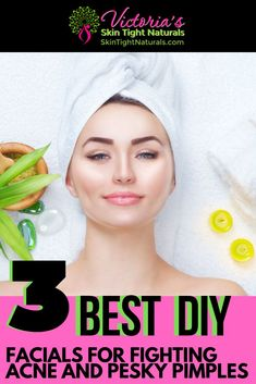3 Best Facials for Fighting Acne & Pesky Pimples Best DIY Facials For Fighting Acne And Pesky Pimples Diy Beauty, Beauty Hacks, Beauty Tips, Acne Facial, Acne Skin, Facial Care, Prom Makeup Looks, How To Get Rid Of Acne, Acne Remedies