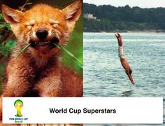 World Cup Superstars. #FifaWorldCup