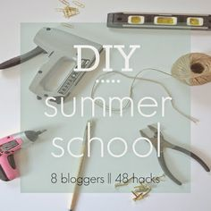 Hi everyone and welcome to your LAST class of the designPost DIY Summer School Series. I'm sad it's over! Today's theme is 'Found in Nat...