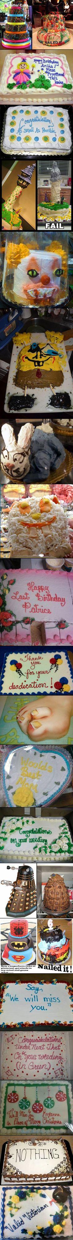 Epic cake fails. Rotfl